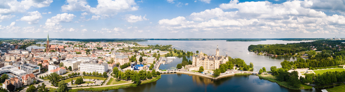 Panorama von Schwerin   Zimmermann Immobilien